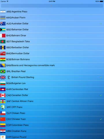 Currency Convert - Watch screenshot 7