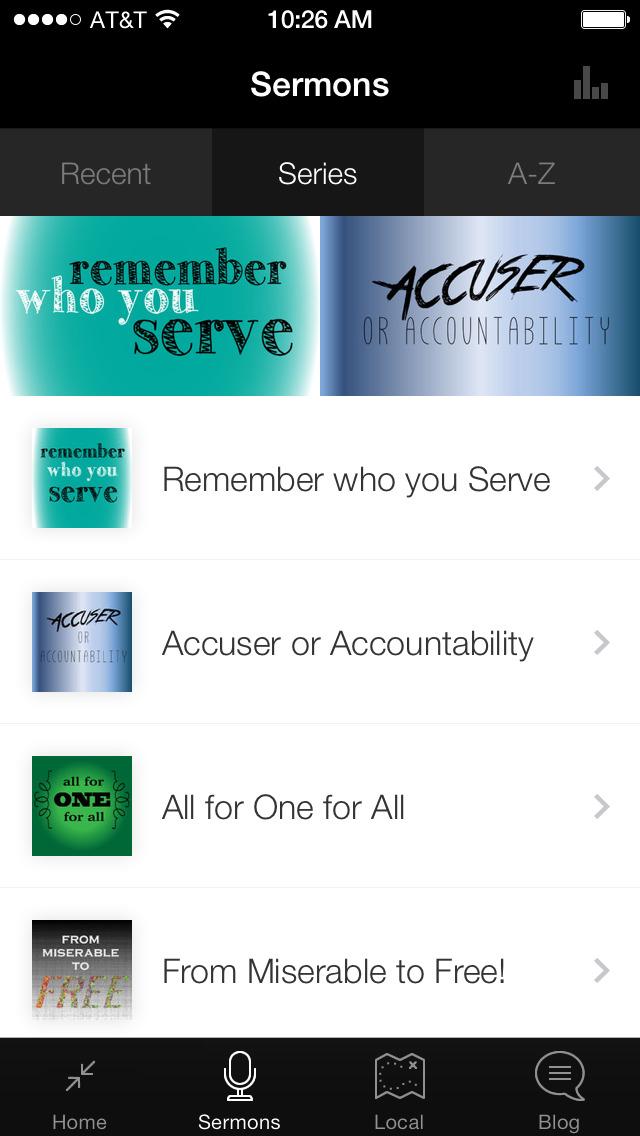 Dwelling Place App screenshot 1