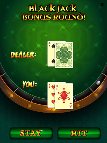 `Lucky Leprechaun Big Gold Jackpot Lotto 777 Casino Slots - Slot Machine with Blackjack and Prize Wheel screenshot 7