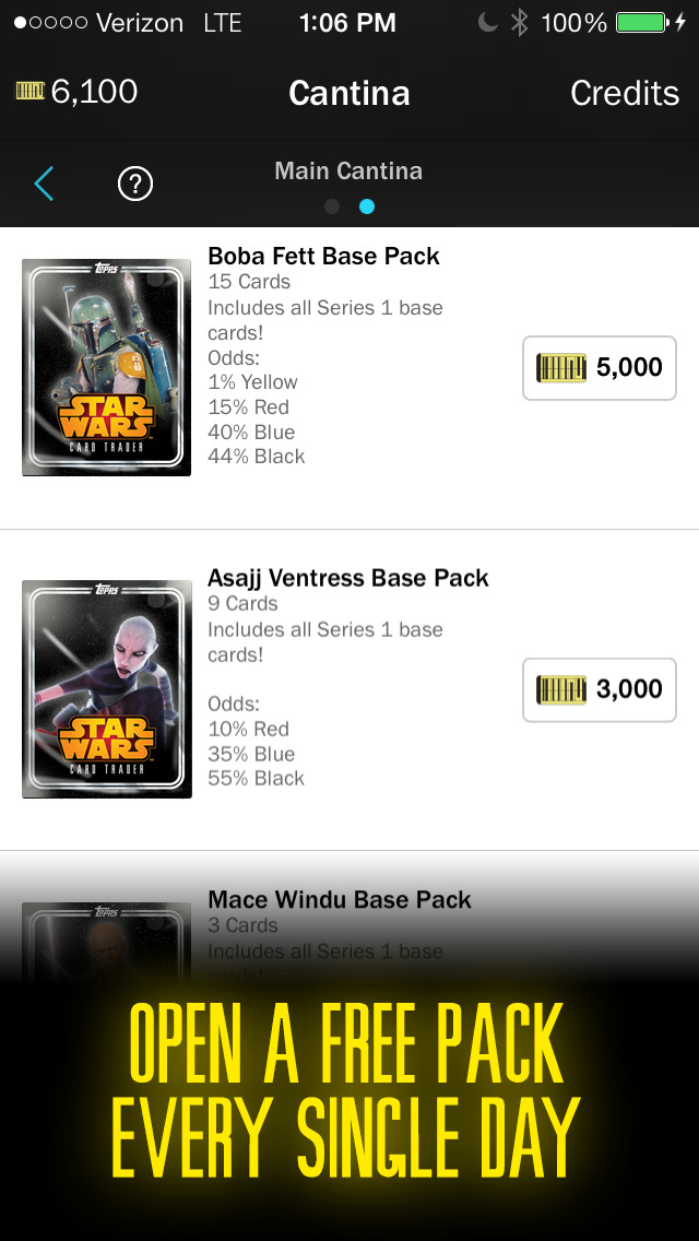 Star Wars Card Trader by Topps screenshot 2
