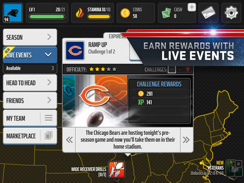 MADDEN NFL MOBILE FOOTBALL screenshot 9