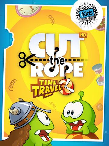 Cut the Rope: Time Travel HD screenshot 1