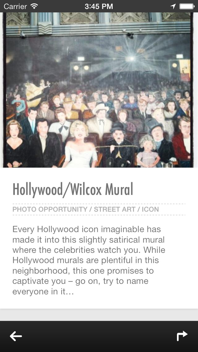 Los Angeles Urban Adventures - Travel Guide Treasure mApp screenshot 3