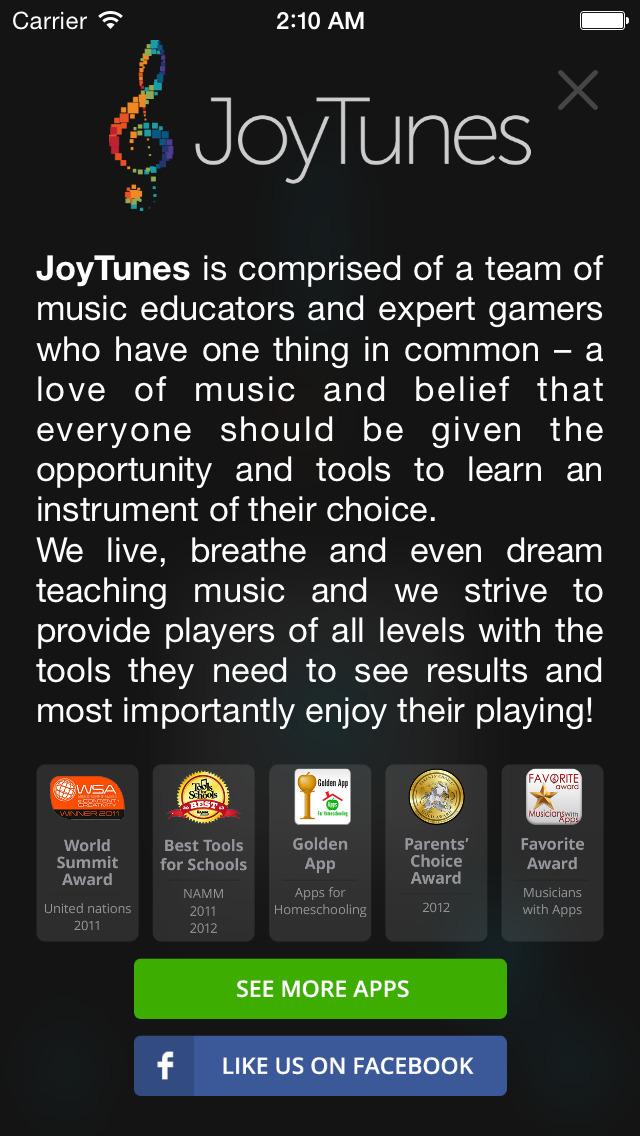 JoyTunes Metronome screenshot 4