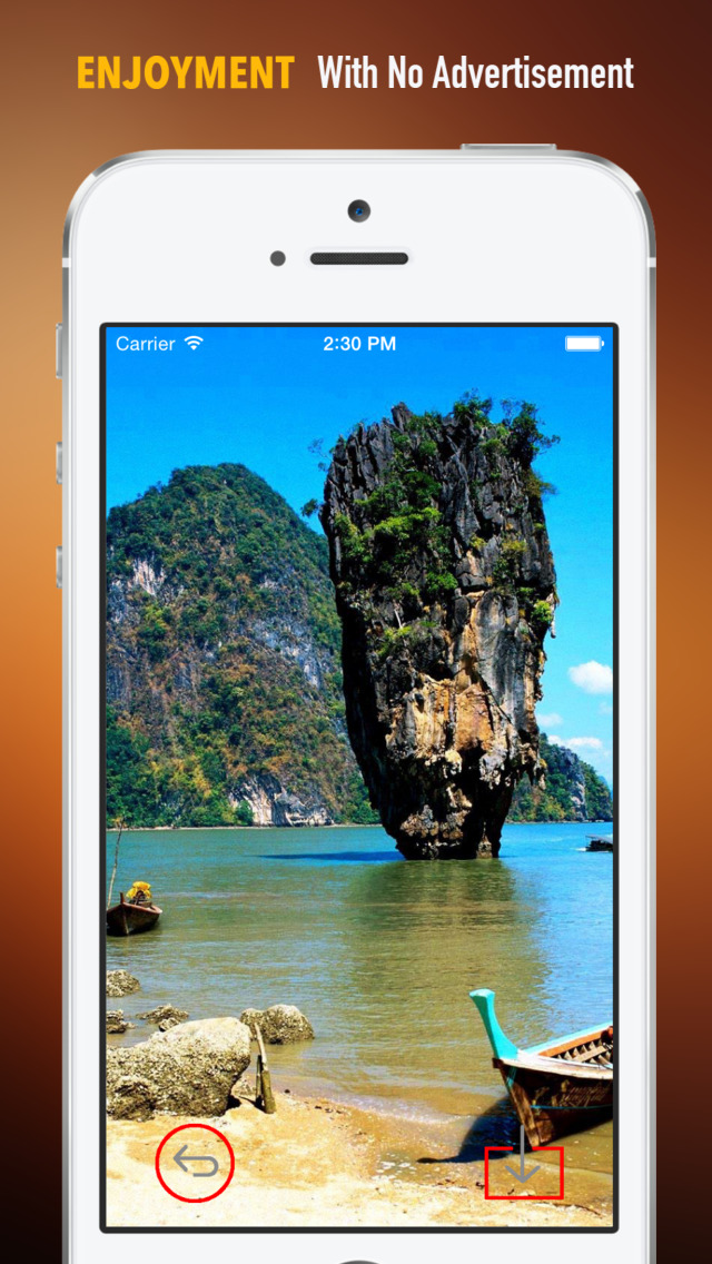 Khao Phing Kan Island Wallpapers HD: Quotes Backgrounds with Art Pictures screenshot 2