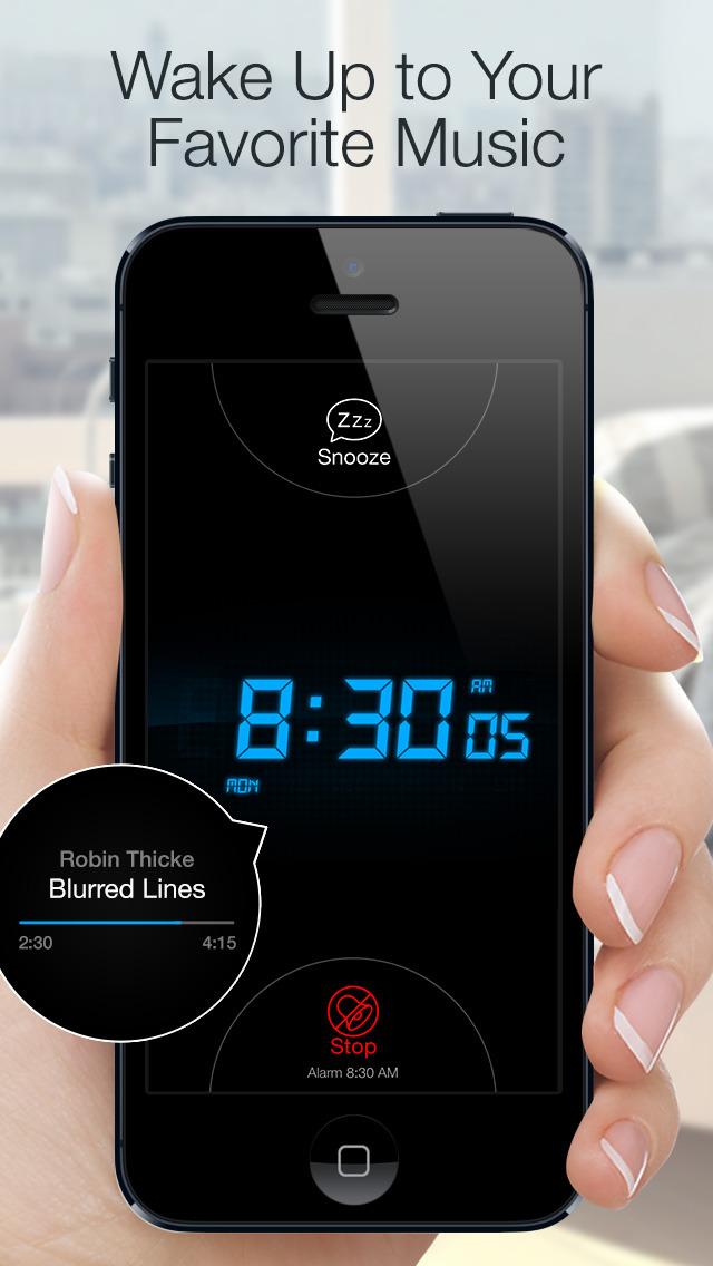 Alarm Clock for Me - Wake Up! screenshot 1