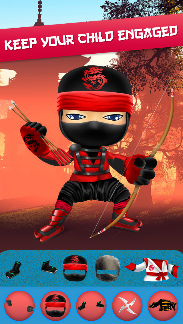 My Epic Ninja Superheroes World Fighter Club Game screenshot 1