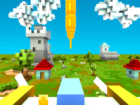 Blocky Plane Gold screenshot 7
