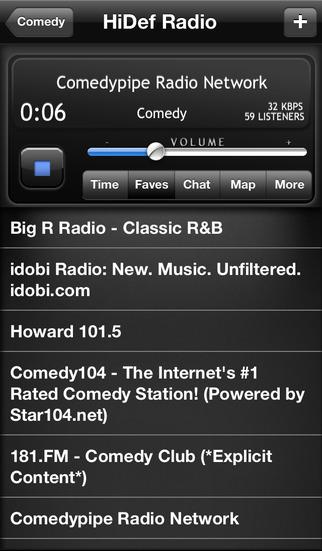 HiDef Radio - Free News & Music Stations screenshot 2
