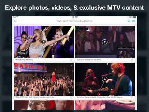 MTV Artists screenshot #4