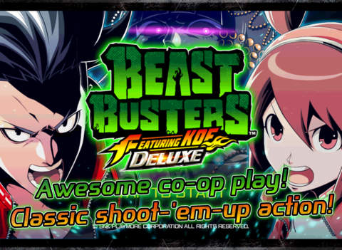 BEAST BUSTERS featuring KOF DX screenshot #1