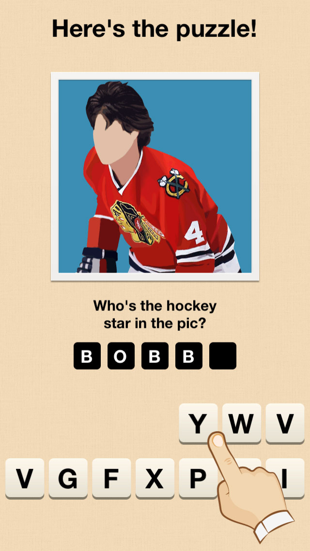 Hi Guess the Hockey Star screenshot 1