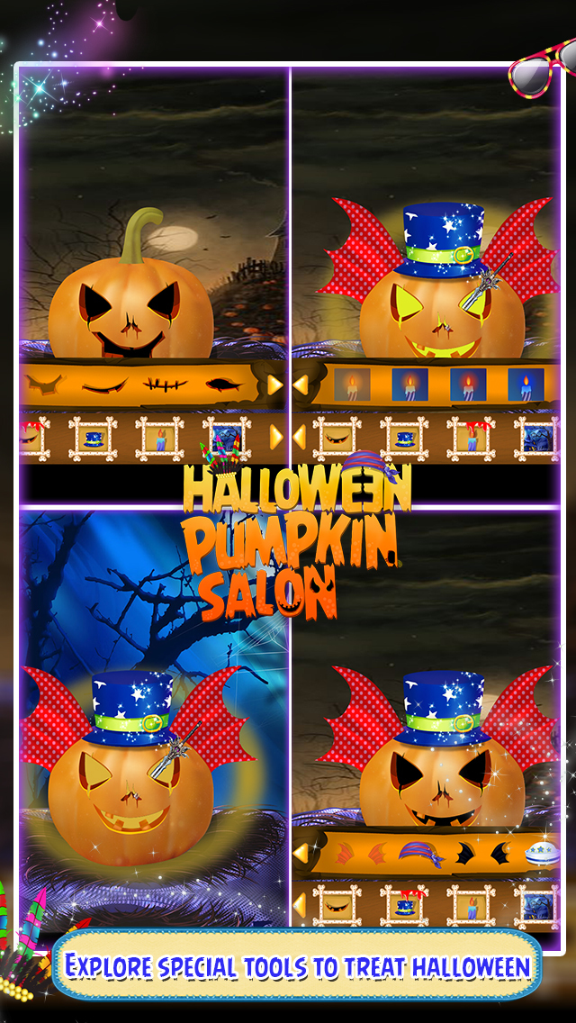 Halloween Pumpkin Salon screenshot 1