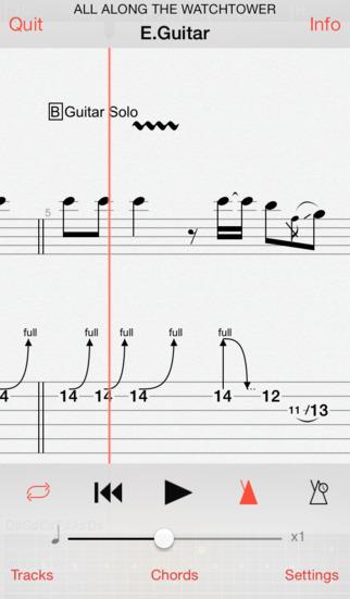 Guitar Pro screenshot 1
