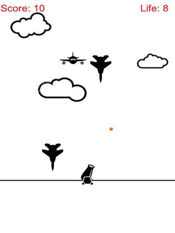 Attack and Defense Combat - Artillery Shoot Air Plane screenshot 5