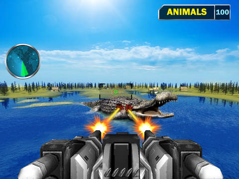 Sea Monster Shooting Strike 3D screenshot 8