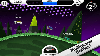 Lunar Racer screenshot 3