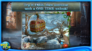 Living Legends: Ice Rose - A Hidden Object Game with Hidden Objects screenshot 1