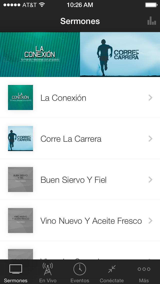 Iglesia Mundo De Fe screenshot 1