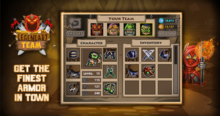 Legendary Team – the action role playing game for epic heroes screenshot 5