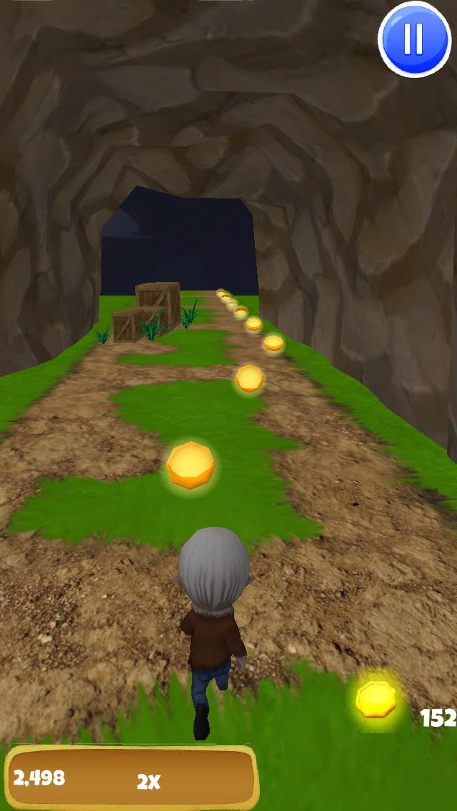 A Little Vampire 3D: Demon Run - FREE Edition screenshot 2