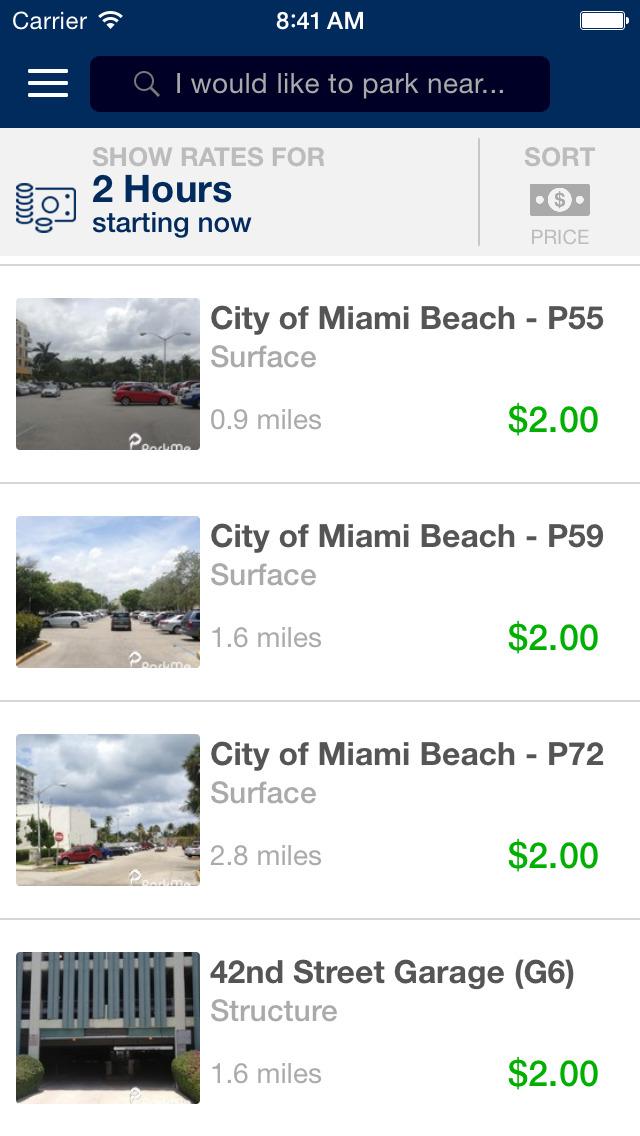 ParkMe - Miami Beach screenshot 3