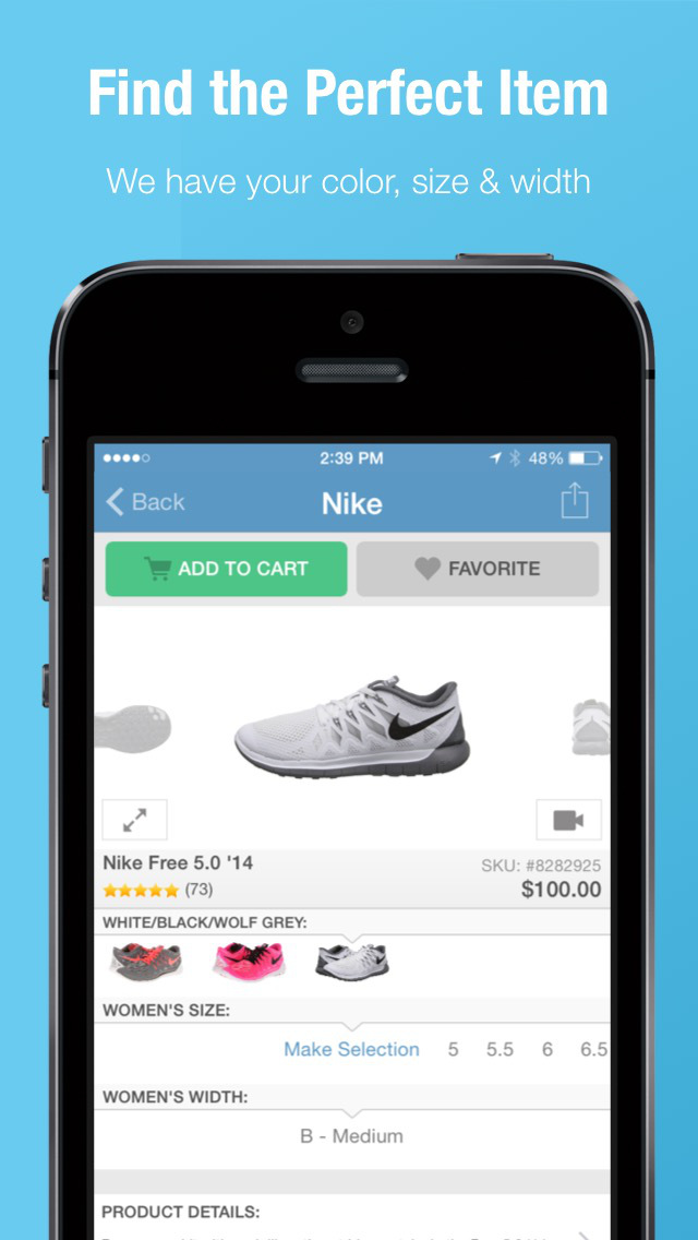 Zappos: Shop shoes & clothes screenshot 1