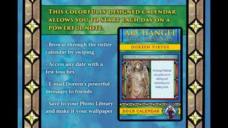 Archangel Messages 2015 Calendar - Doreen Virtue screenshot 2