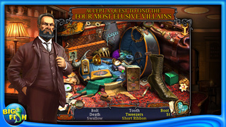 Haunted Train: Spirits of Charon - A Hidden Object Game with Ghosts screenshot 2