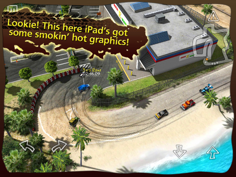 Reckless Racing HD screenshot #1