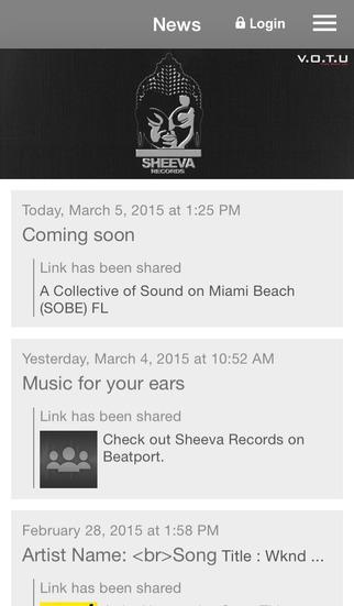 Sheeva Records screenshot 1