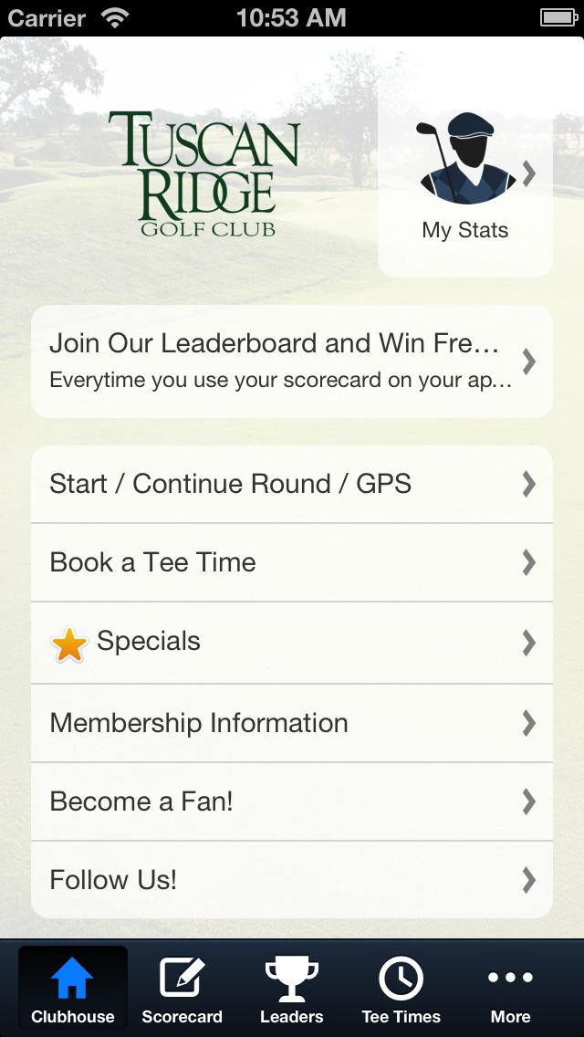 Tuscan Ridge Golf Club screenshot 2