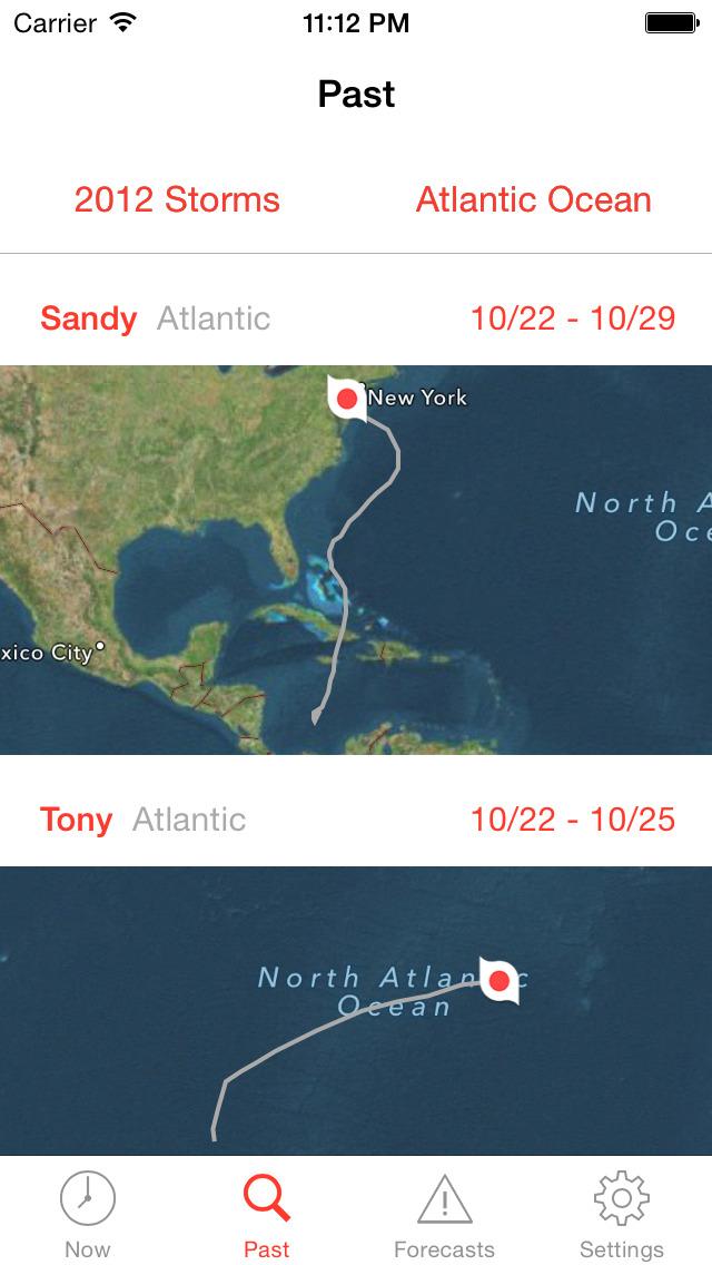 My Hurricane Tracker Pro screenshot 4