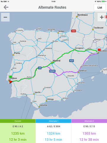 CoPilot GPS Navigation screenshot 8