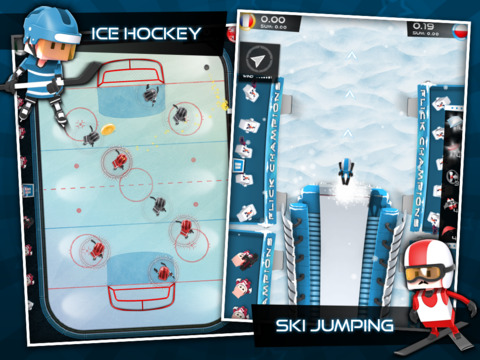 Flick Champions Winter Sports screenshot 9