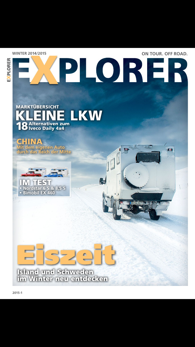 EXPLORER Magazin screenshot 1