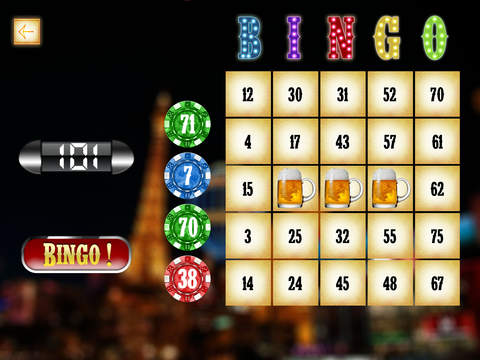 Las Vegas Bingo Mania Pro - win casino gambling tickets screenshot 6
