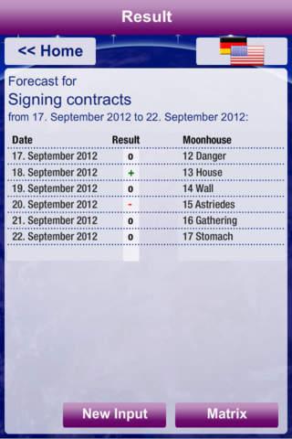 Mondhaus-Kalender - náhled