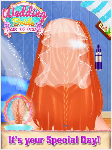Wedding Bride Hair Do Design screenshot 8