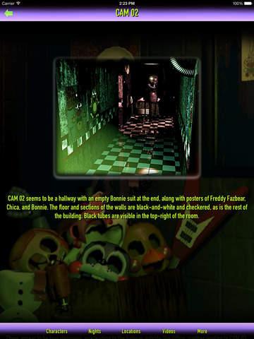 Cheats + Walkthrough for Five Nights at Freddy's 3 screenshot 6