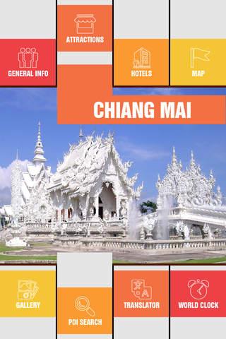 Chiang Mai Offline Travel Guide - náhled