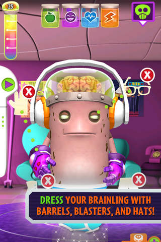 Oh No! It's An Alien Invasion: My Pet Brainling - náhled