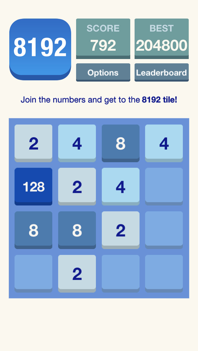 best iphone music apps 8192 puzzle the best 2048 like free iphone 8192