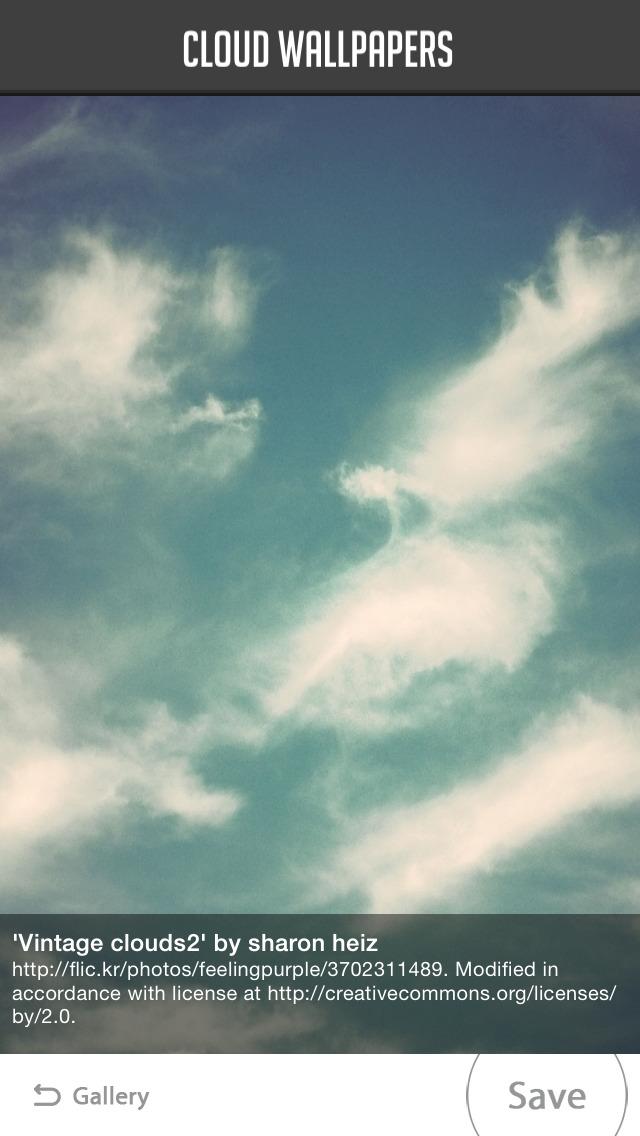 Cloud Wallpapers screenshot 3