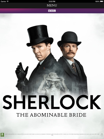 Sherlock The Abominable Bride App screenshot 5