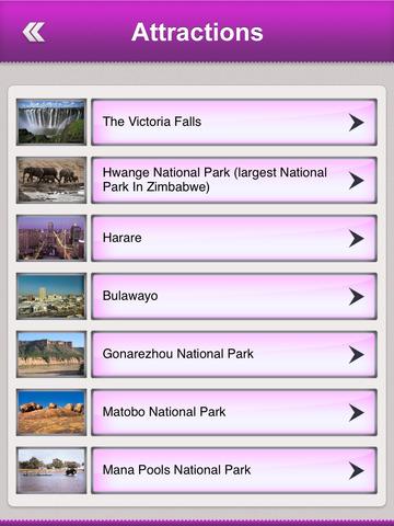 Zimbabwe Tourism Guide screenshot 8