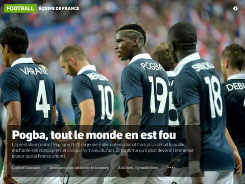MyL'Équipe - Votre journal, mais en numérique ! screenshot 8
