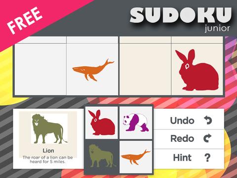 Sudoku Junior Free screenshot 5