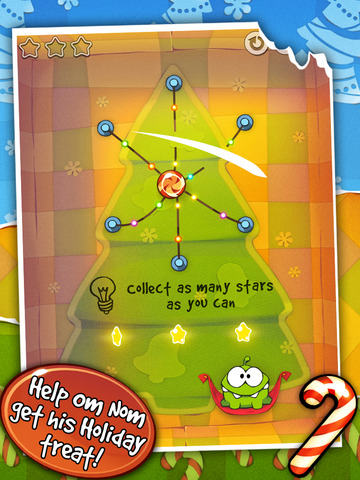 Cut the Rope: Holiday Gift screenshot #4