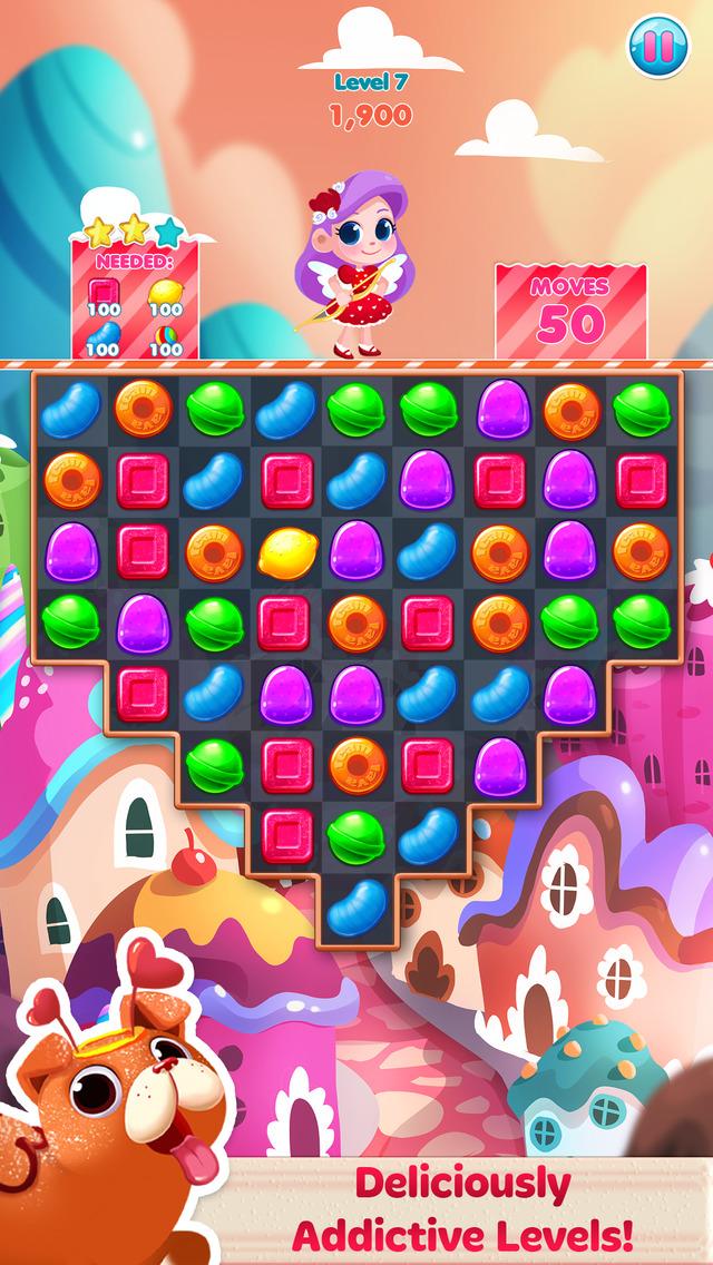 Candy Blast Mania Valentines screenshot 1